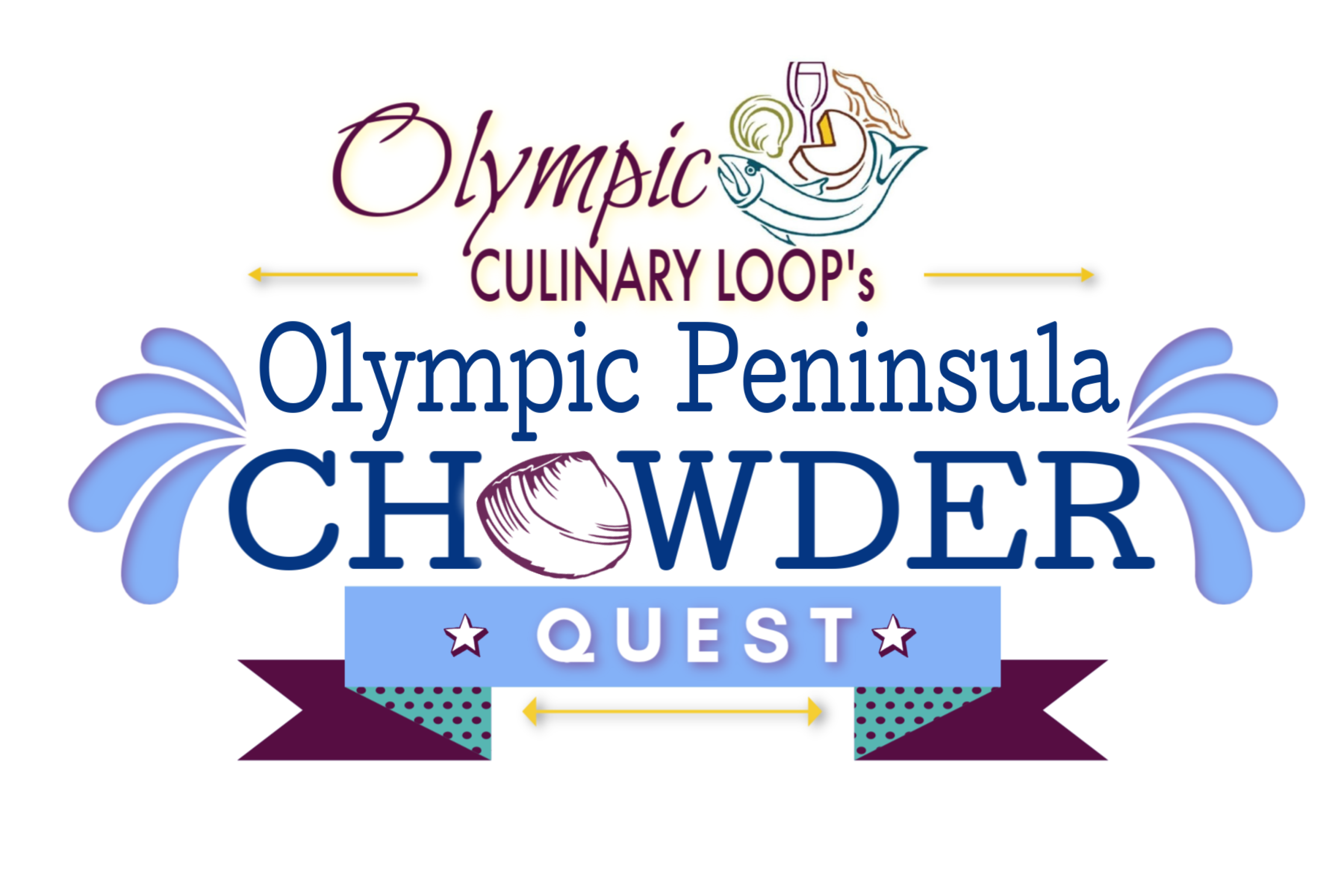 OCL Chowder logo Splash-line